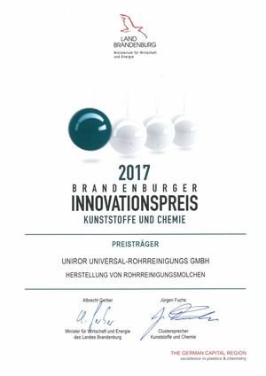 Brandenburger Innovationspreis 2017